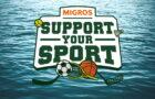 """Unterstütze uns bei der Migros Aktion """"Support Your Sport"""""""